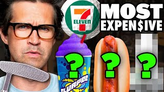 What's The Most Expensive Item At 7Eleven? (Mini Golf Game)