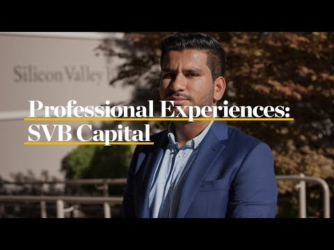 Professional Experiences: SVB Capital