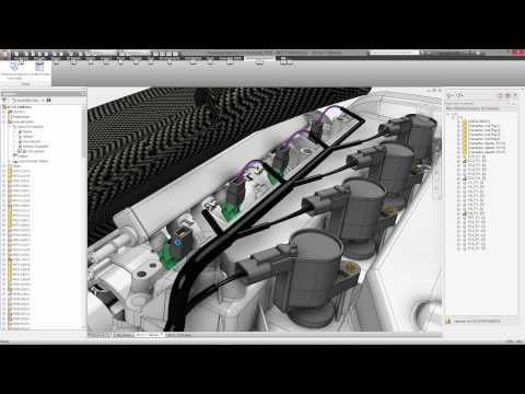 Autodesk Inventor Cable and Harness