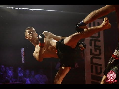 ETERNAL MMA 43 - ROHULLAH ROHULLAH VS BENJAMIN WRIGHT - MMA FIGHT VIDEO