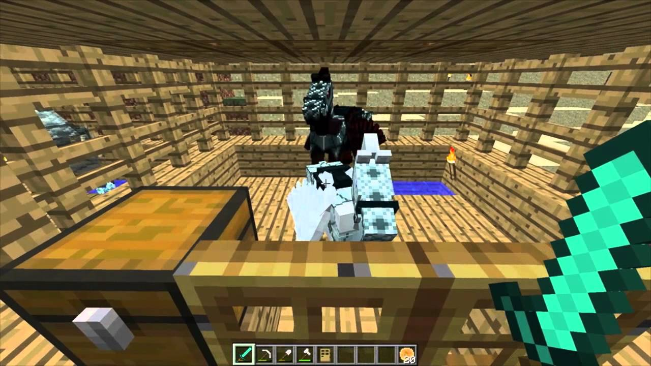 minecraft how to make a cow horse 1.7.10