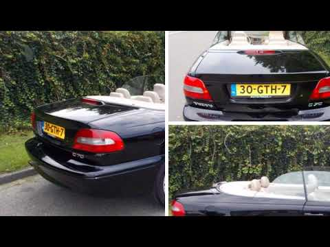 Volvo c70 convertible 24 t youtube volvo c70 convertible 24 t sciox Image collections