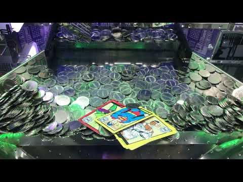 DC Comics Super Heroes Coin Pusher is my Arch Nemesis