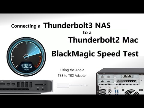 Repeat The QNAP Thunderbolt 3 NAS via Apple Adapter to a