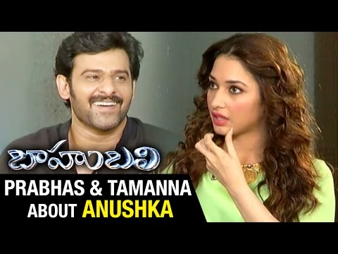 Thumbnail: Prabhas and Tamanna about Anushka | Baahubali Exclusive Interview | Rana | SS Rajamouli