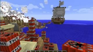 Moga Village v.s. Tnt - Minecraft - Monster Hunter Tri - CoguyGaming
