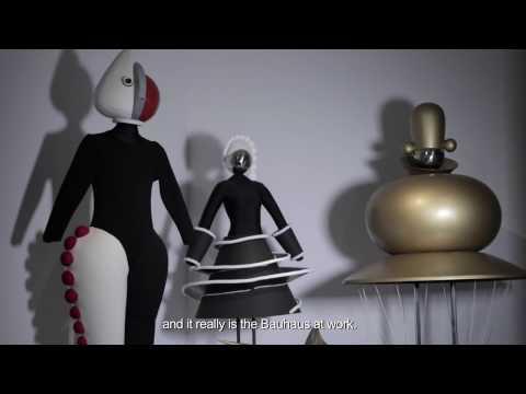 """Exhibition: """"L'Esprit du Bauhaus"""" - Theatre at the Bauhaus"""