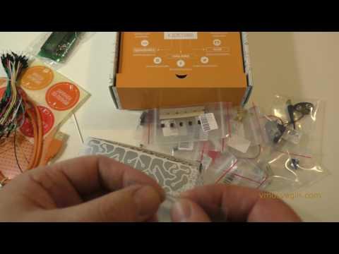 Обзор Arduino-конструктора Матрешка Z. Сбор схемы из примера