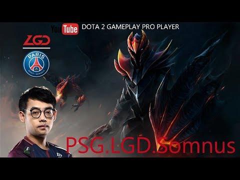 DOTA 2 GAMEPLAY PRO PLAYER - Dragon Knight By PSG.LGD.Somnus
