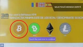Cum să vinzi Bitcoin folosind ATM-urile bitMahavi