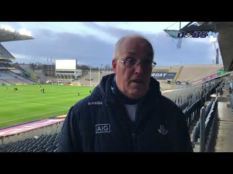 Dublin U20s manager Tom Gray speaks to DubsTV following All-Ireland Final defeat