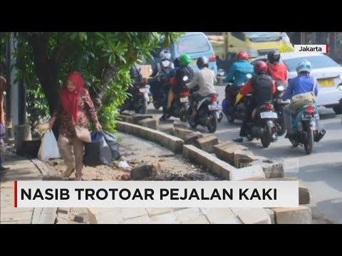 Nasib Trotoar Pejalan Kaki di Jakarta