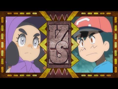 Ash vs. Hapu—The Battle Begins! | Pokémon the Series: Sun & Moon—Ultra Legends | Official Clip