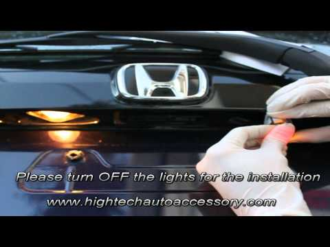 026 - T10 LED License Plate Light Bulbs Installation by High Tech Auto Accessory
