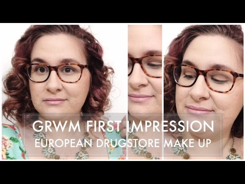 Get Ready with me First Impressions // Bourjois, Maybelline, L'Oreal - Holland Make Up Haul