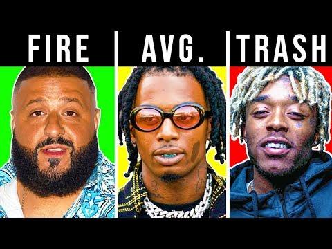 RANKING RAPPER'S AD-LIBS TRASH TO FIRE (Lil Uzi Vert, Playboi Carti, DJ Khaled)