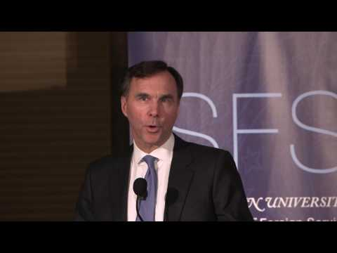 Partners in Prosperity: The Canada-U.S. Relationship with Canadian Finance Minister Morneau