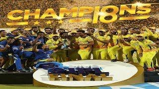 CSK vs SRH Final Highlights: Chennai Super Kings beat Sunrisers Hyderabad to win third IPL title