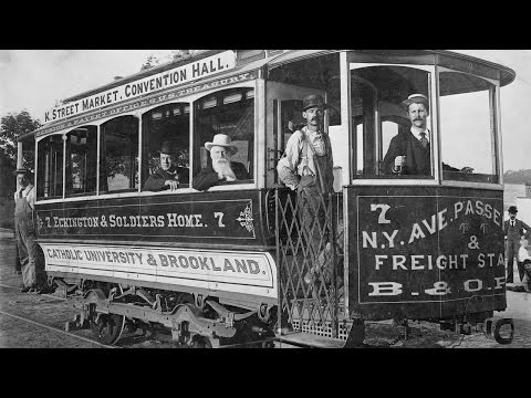 Washington, D.C. Streetcar Nightmare: Then and Now