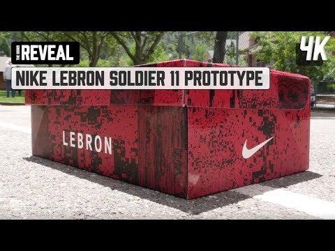 68715ed7193 REVEAL    Nike Lebron Soldier 11 Prototype - YouTube