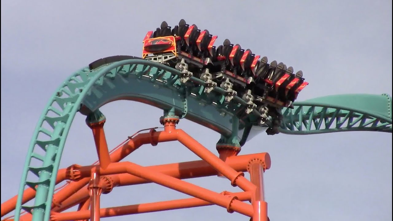 Tempesto Off Ride HD Busch Gardens Williamsburg New For 2015 Roller Coaster