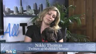 Nikki Thomas and her new Puppy Bon Bon on Sex, Brains & Money