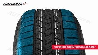 Обзор зимней шины Continental ContiCrossContact Winter ● Автосеть ●