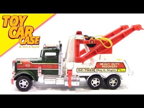 Matchbox Super Kings Peterbilt Wrecker Tow Truck 1978 Toy Car Case