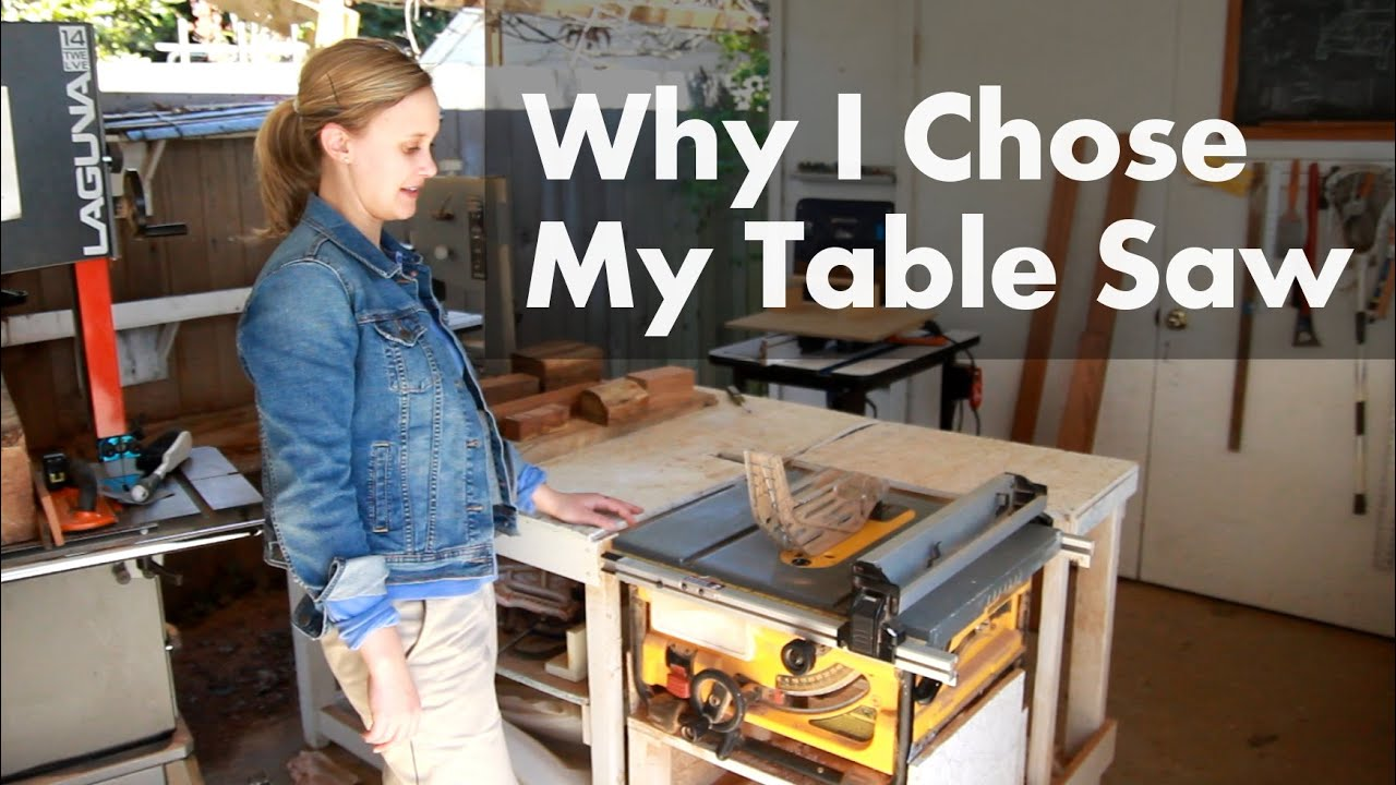 Why I Chose My Dewalt Table Saw Shop Update March 2016
