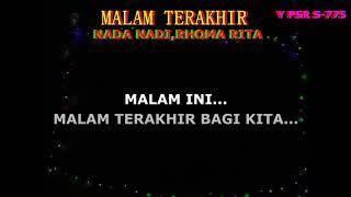 Malam Terakhir Nada Nadi, Rhoma Irama Rita Sugiarto