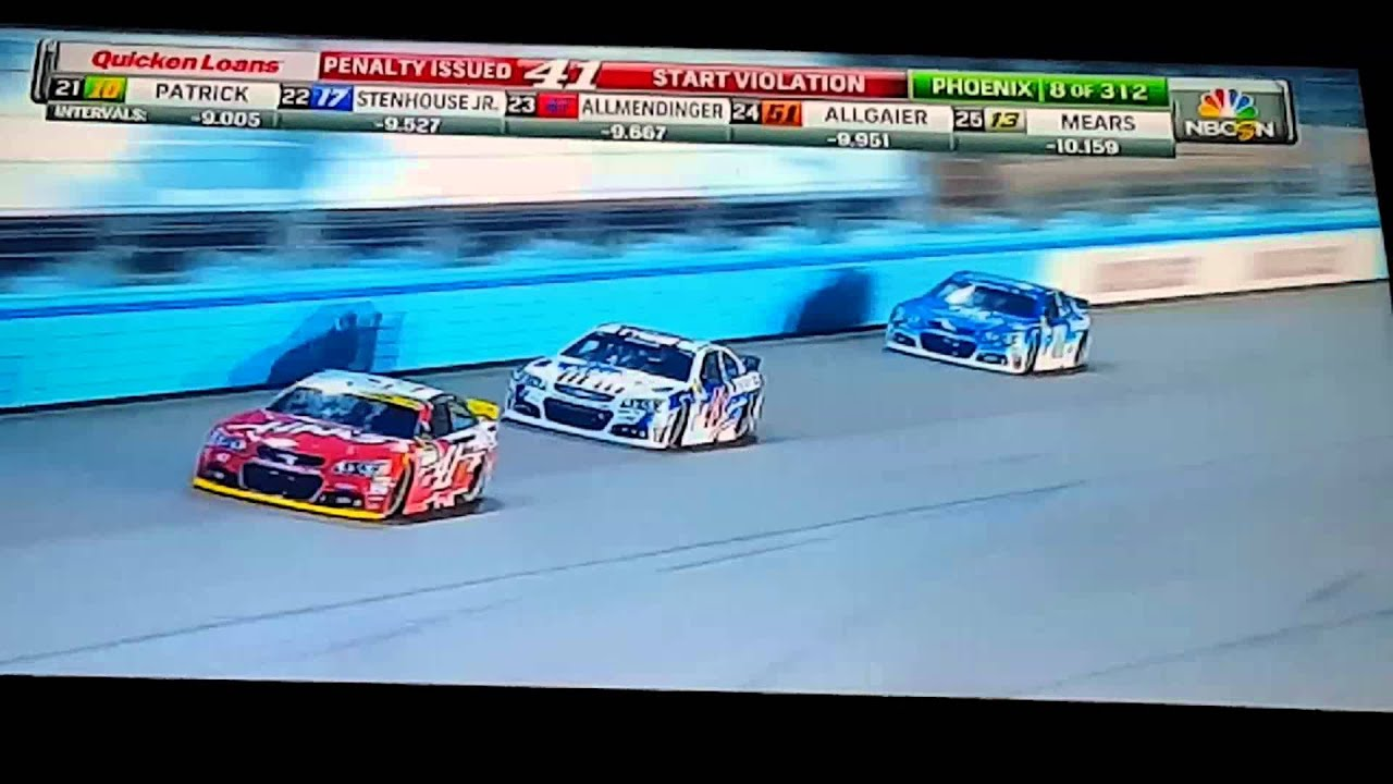 2015 QUICKEN LOANS RACE FOR HEROES 500 - START OF THE RACE