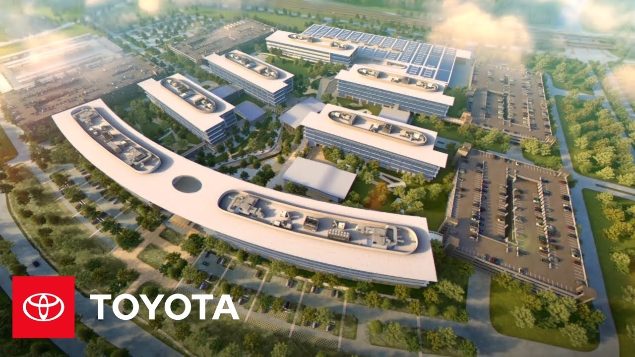 Toyota Of Plano >> Sneak Peek: Toyota's Future North American Headquarters | Toyota - YouTube