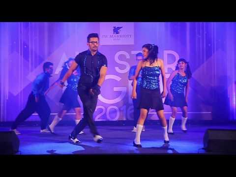 Hip hop house_J W Marriott_all star night 2016_Piyush Malhotra dance studio(PMDS)