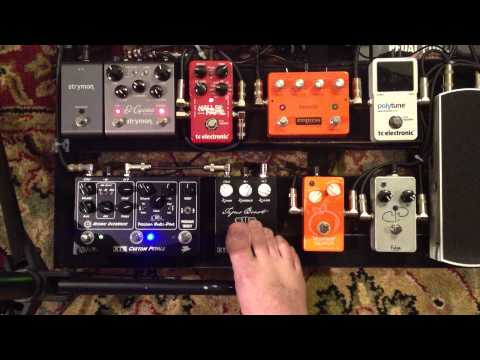 Boutique Overdrive Boost and Fuzz Pedal Stacking Demo