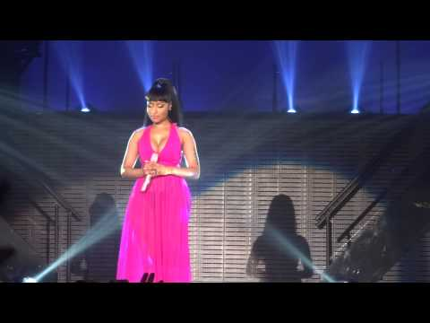 Nicki Minaj - Save Me & Marilyn Monroe - live Manchester 4 april 2015