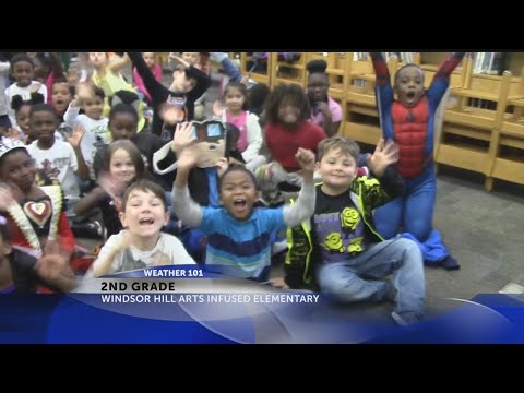 Rob Fowler visits the 2nd graders at Windsor Hill Arts Infused Elementary School