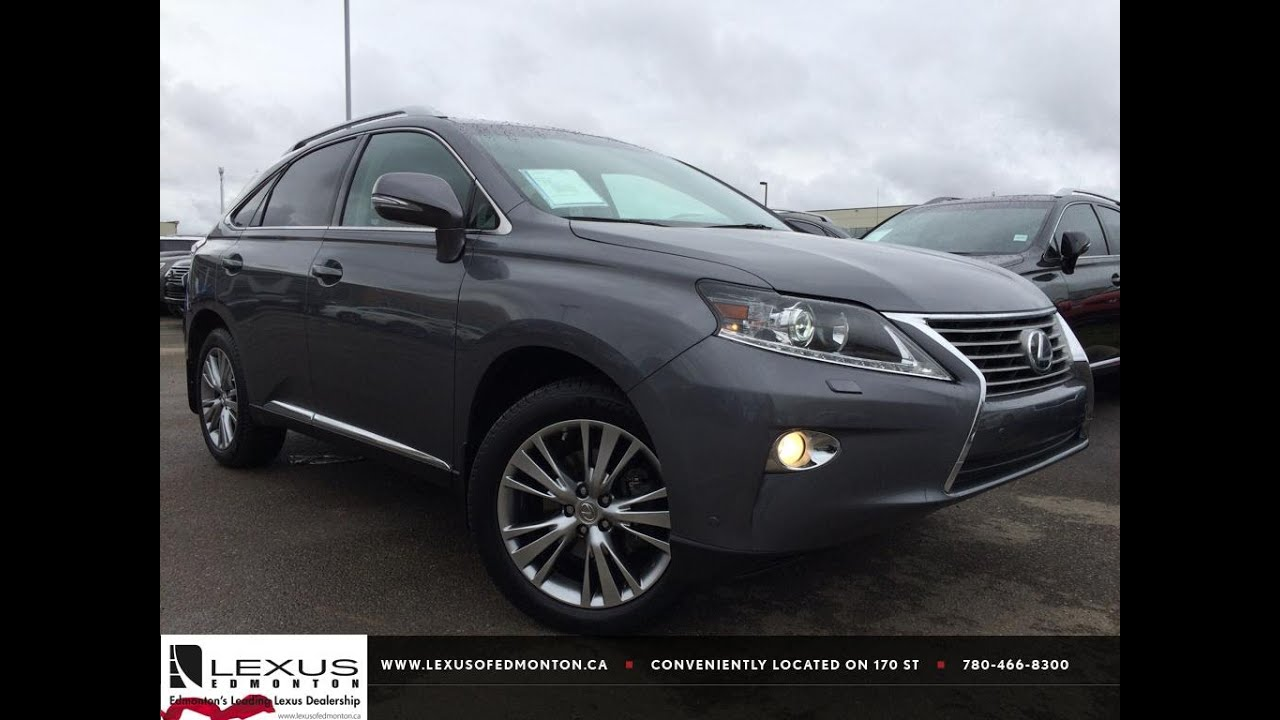 lexus certified pre owned grey 2013 rx 350 awd ultra premium package 1 review hinton alberta. Black Bedroom Furniture Sets. Home Design Ideas