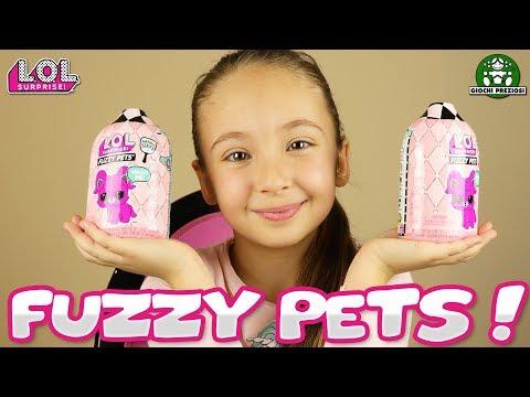 FUZZY PETS di LOL SURPRISE! - Un'idea VERAMENTE FANTASTICA per le LOL serie 5!