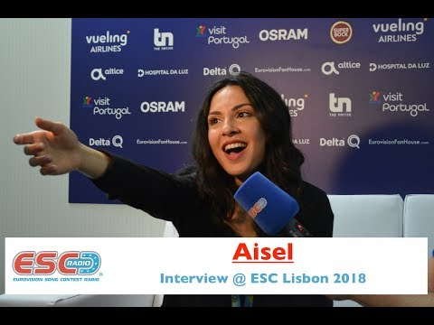Aisel (Azerbaijan) - interview Eurovision Lisbon 2018 | ESC Radio