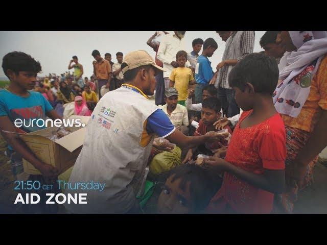 Aid zone | Euronews promo