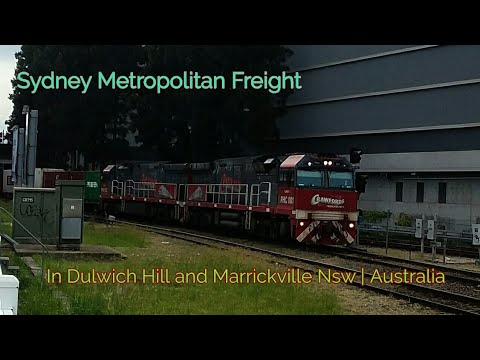 Sydney Metropolitan Freight in Marrickville and Dulwich Hill NSW | Australia 2018