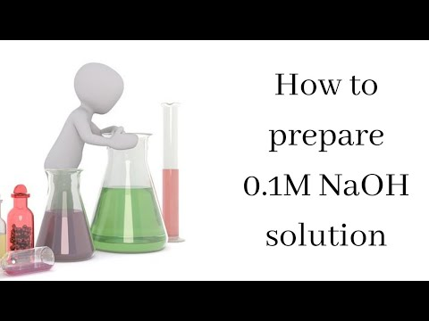How To Make 0 1 Molar NaOH Solution