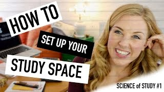 How to Set up Your Study Space | Science of Study #1| Maddie Moate