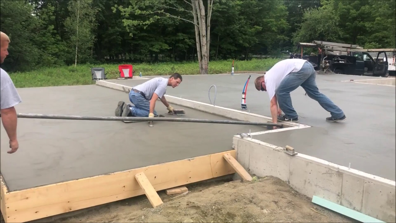 5 tips for a perfect broom finish concrete patio