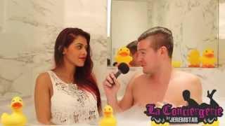 Ayem dans le bain de Jeremstar - INTERVIEW
