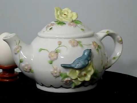 Teapot music box
