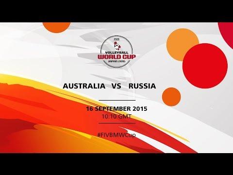 Australia v Russia