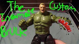 My Custom:The Incarnate BrULK (Brock Lesnar/The Incredible Hulk) Action Figure