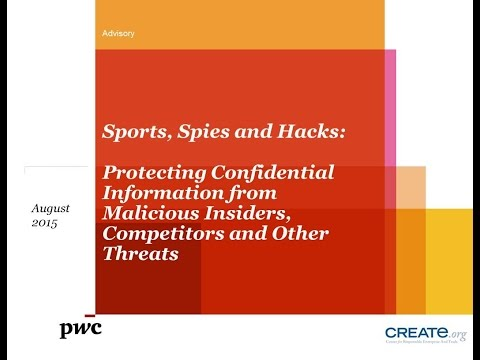 Webinar: Sports, Spies and Hacks: Protecting Confidential Information