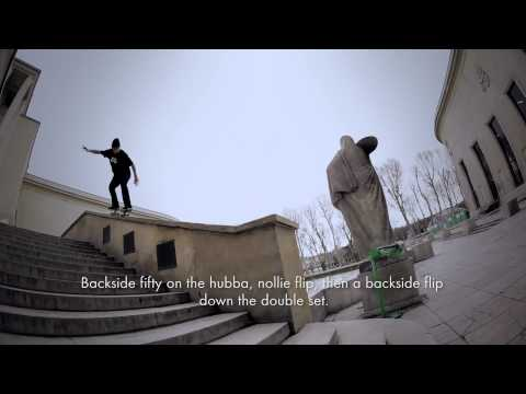 "Veja o video -Nike Skateboarding Europe ""Inspired by Koston: Maxime Geronzi"""